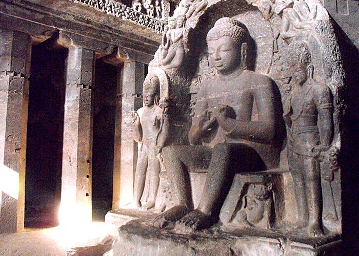 Golden buddha watching a teen goes anal - 3 3